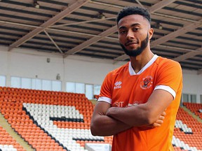 Police are investigating the racist abuse directed at Blackpool Football Club winger Grant Ward on Instagram on Tuesday night.