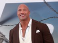 "Dwayne Johnson at the premiere for ""Fast & Furious Presents: Hobbs & Shaw"" in Los Angeles, California, U.S., July 13, 2019."