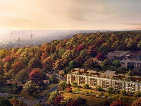 Berkshire Residences is as close to the lake as the Town of Oakville will allow a luxury condo to get.