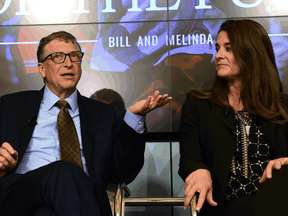 Bill and Melinda Gates in 2015.