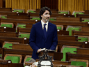 Some bills will pass and others won't if a fall vote is called by Prime Minister Justin Trudeau, above delivering a formal apology in the Commons on May 27, 2021 for the internment of Canadians of Italian descent in the Second World War.