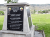 A monument honouring survivors on the grounds of the former Kamloops Indian Residential School where the remains of 215 children have recently been found, on Tk'emlups te Secwépemc First Nation in Kamloops, B.C.
