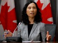 Canada's Chief Public Health Officer Dr. Theresa Tam at a news conference on March 23, 2020.