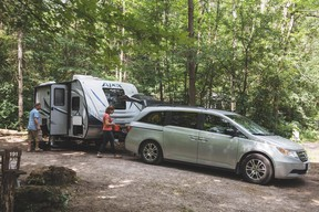 RVezy enables owners to rent their RVs, trailers and Class B camper vans for a nightly fee. SUPPLIED