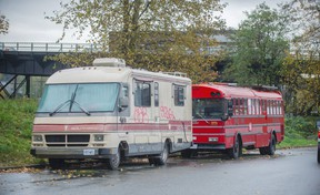 No real estate transfer tax for motorhomes parked under the SkyTrain.