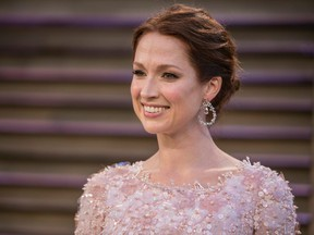 Ellie Kemper arrives to the 2014 Vanity Fair Oscar Party on March 2, 2014 in West Hollywood, California.