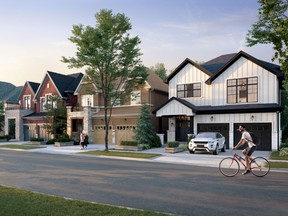 The 90-acre Heights of Harmony will consist of 700 houses and townhomes in total.