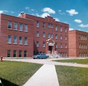 Gordon Indian Residential School during the time of Starr's employment there.