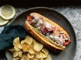 East Coast lobster roll from A Rising Tide
