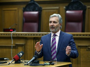 Glenn Joyal, chief justice of the Manitoba Court of Queen's Bench.