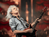 Queen guitarist Brian May performs in Seoul on January 18, 2020.