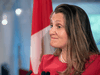 Finance Minister Chrystia Freeland has declined to present a long-term plan to return to balance or cut spending.