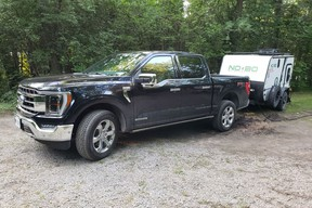 Road trip to Trent-Severn in the Ford F-150