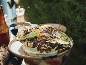 Grilled cabbage with chili garlic butter from Chasing Smoke