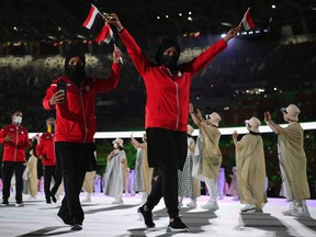 Global viewers of Friday's opening ceremony for the Tokyo Olympics may have been confused at the order of the national parade, where Andorra was followed by Yemen.
