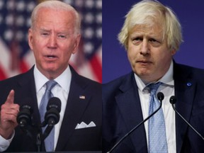 U.S. President Joe Biden and U.K. Prime Minister Boris Johnson have been pointing fingers at each other over the Afghanistan crisis.