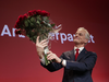 Norway just had an election too! Here, Labour leader Jonas Gahr Store (think of him like a more pro-oil version of NDP Leader Jagmeet Singh) holds a bouquet of roses after defeating the country's incumbent Conservative Party.