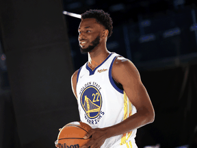 """Golden State Warrior Andrew Wiggins said it is """"none of your business"""" why he won't get vaccinated against COVID-19."""