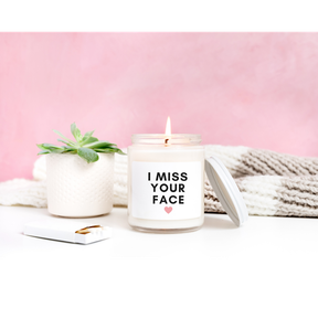 Tell someone how you feel with a Kim & Pom candle.