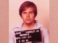 Mugshot taken by the FBI of John Hinckley Jr. shortly after he attempted to assassinate U.S. President Ronald Reagan in 1981.
