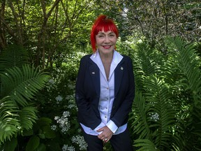 Lenore Zann, MP for Cumberland-Colchester, at her home in Truro, Nova Scotia on Friday July 3, 2020.