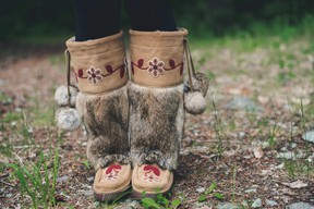 Manitobah Mukluks blends traditional styles with modern manufacturing techniques.