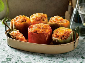 Packed peppers from Cook More, Waste Less