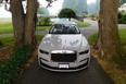 The 2021 Rolls-Royce Ghost looks right at home at the stately Sandpiper Resort in Harrison Mills, B.C.