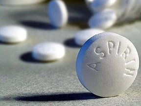 """The U.S. task force is now saying adults 60 or older shouldn't start taking aspirin daily to lower the chances of a first heart attack or stroke, concluding that there is """"no net benefit"""" in doing so."""
