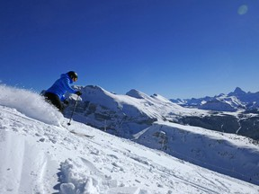 More than eight out of 10 winter visitors to Banff National Park ski, writes Ralph Scurfield.