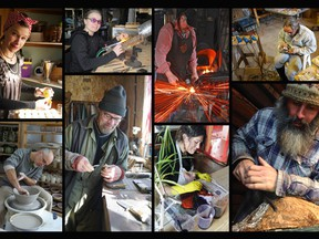 The Madawaska Studio Tour offers an opportunity to interact with the wide variety of artisans tucked among the hills of southern Renfrew County.