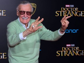 Marvel legend Stan Lee, who revolutionized pop culture as the co-creator of iconic superheroes like Spider-Man and The Hulk who now dominate the world's movie screens, has died. Frederic J. Brown / AFP / Getty Images / Files