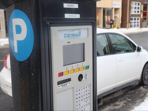 The city's move to pay-and-dispay terminals instead of parking meters is bringing in more money. Photo taken on Friday February 9, 2018 in Cornwall, Ont.  Alan S. Hale/Cornwall Standard-Freeholder/Postmedia Network
