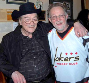Supplied Photo  Stompin' Tom Connors and Bar River native Duncan Fremlin.