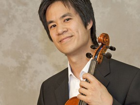 Andrew Chung, artistic director and violinist with INNERchamber. Beacon Herald file photo
