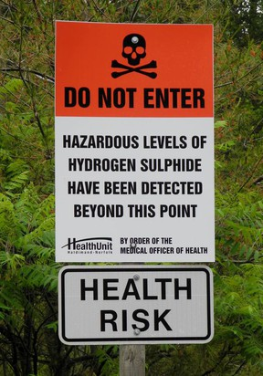 Norfolk council heard this week that the toxic gas well problem in Silver Hill could be headed to court. Council also heard that the hydrogen sulphide gas problem appears to be migrating in the direction of Langton. – Monte Sonnenberg