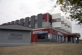 A file photo of Rotary House, which serves as Grande Prairie's homeless shelter.