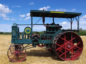 The Manitoba Agricultural Museum's collection contains a Sawyer Massey 25-45 gas tractor donated in 1960 by J.M. McCrindle of Foxwarren, Manitoba. (SUPPLIED PHOTO)