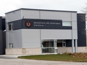 The Woodstock Fire Department Station No. 1.