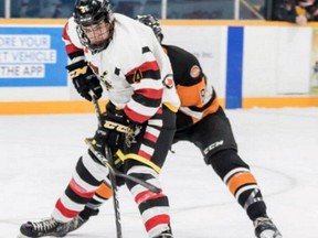 Hagersville's Steve LaForme played for the Hamilton Kilty B's in the Greater Ontario Junior B Hockey League's Golden Horseshoe Conference last seaon.