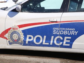 A Greater Sudbury Police cruiser was parked outside a Whittaker Street residential complex in Sudbury, Ont. on Monday February 10, 2020. Police responded to a shooting around 8:45 p.m. on Sunday, February 9, 2020. John Lappa/Sudbury Star/Postmedia Network