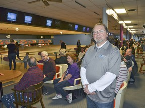 Lloyd Mohr, board vice-president with Big Brothers Big Sisters of Grey Bruce, at Bowl for Kids' Sake 2020 at The Bowling Alley last year. About a week later, the first pandemic state of emergency was declared. (file photo)