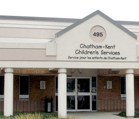 Chatham-Kent Children's Services' office in Chatham. (File photo/Postmedia Network)