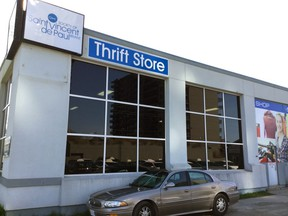 The St. Vincent de Paul Society Thrift Store on Wellington Street is celebrating its third anniversary on Friday.