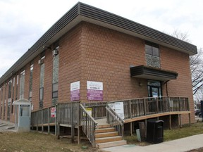 An assessment centre to conduct testing for the COVID-19 virus opened March 19 at 47 Emma St. in Chatham. (Ellwood Shreve/Chatham Daily News)