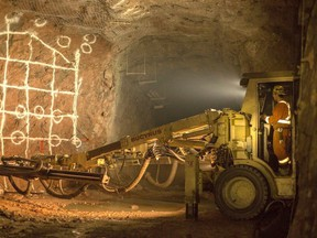 Young-Davidson Mine in Matachewan is continuing on with little disruption despite the pandemic, owner Alamos Gold reports.