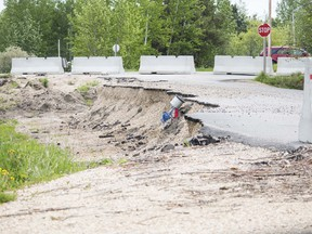 This road has been impassable for almost a year and a half in Sangudo. Lac Ste. Anne is moving forward with fixing 53 Avenue.  Brigette Moore
