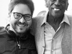 Director Sergio Navarretta and actor Louis Gossett, Jr., worked together on The Cuban. SUPPLIED