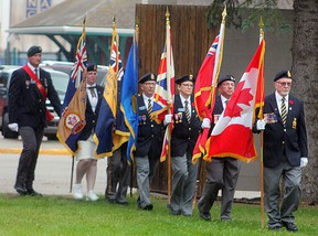 One of the suggestions comunity members have come up with for social distancing-friendly Canada Day is to have the Wetaskiwin Royal Canada Legion Br. No. 86's Colour Party march throughout the city.