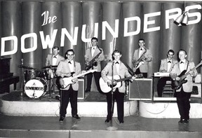 The Downunders featured John Williams, Peter Smith, Ken Poole, John Machereth, Byron Taylor, Sonny Barill and Ed Rowe circa 1958 at The Palm Gardens. (COURTESY SAULT STE. MARIE MUSEUM)